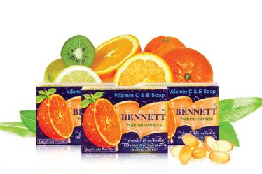รีวิว BENNETT (Vitamin C & E Soap) Natural Extracts