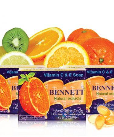 รีวิว BENNETT (Vitamin C & E Soap) Natural Extracts