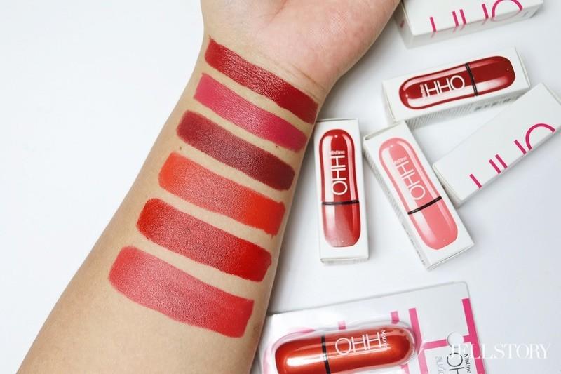 รีวิว Mistine OHH Lipstick